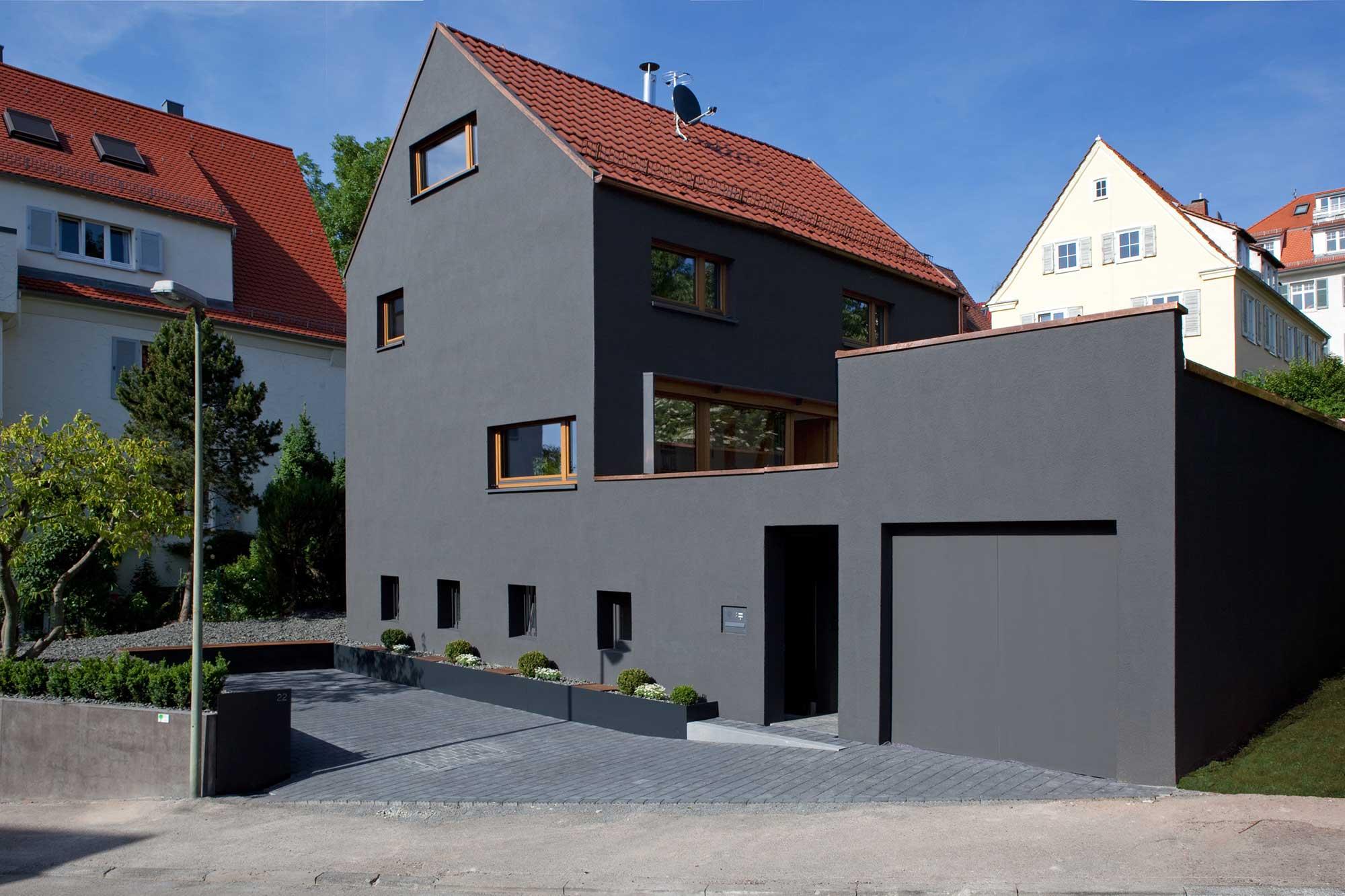 Umbau Und Erweiterungeinfamilienhaus E22stuttgart Holzerarchitekten